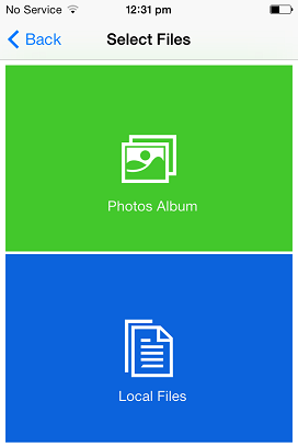 How to Email Multiple Photos From iPhone - Select Photos Album