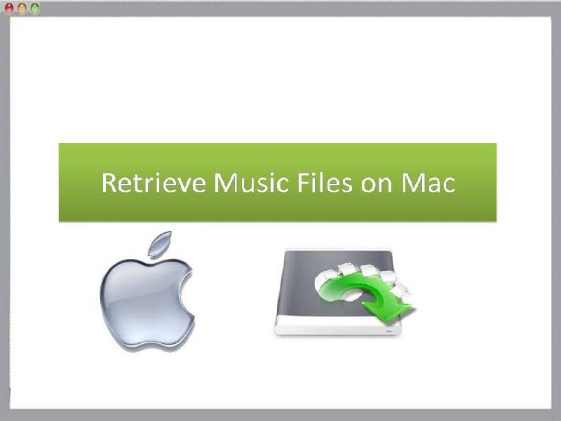Tool to retrieve music files on Mac